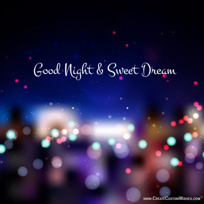Good Night With Name