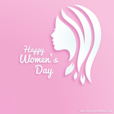 Personalized Women's Day Greetings Card