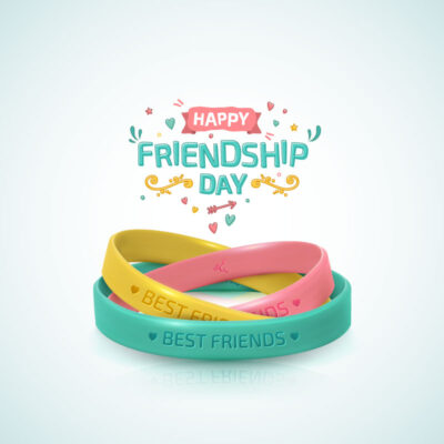 Customized Happy Friendship Day Wishes Card