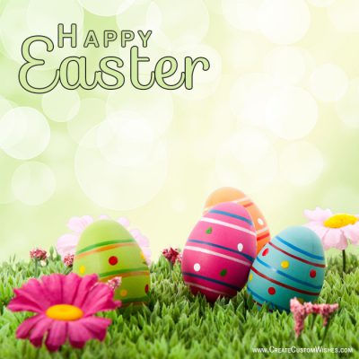 Personalized Easter Day Greetings Cards
