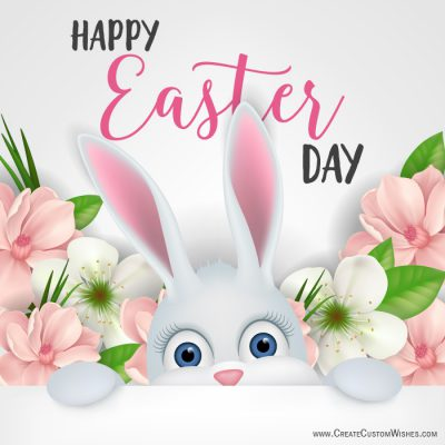 Write Message on Easter Day Images