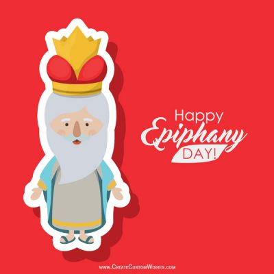 Make your own Happy Epiphany Wishes card