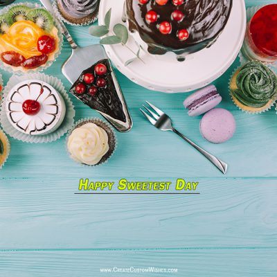 Customized Sweetest Day Wishes Card