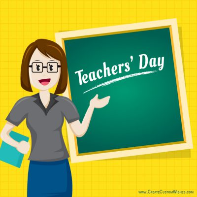 Personalized Teacher's Day eCards