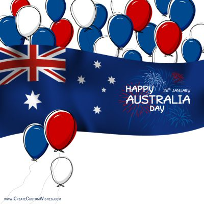 Personalized Australia Day Cards