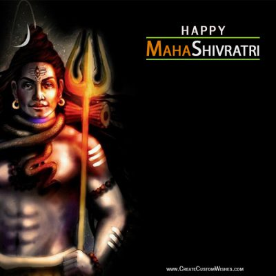 Set your brand logo on Shivratri Image
