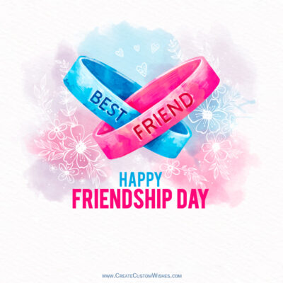Make your own Friendship Day Card
