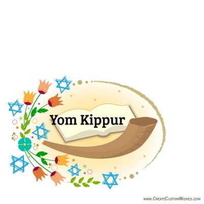 Create your own Yom Kippur Card