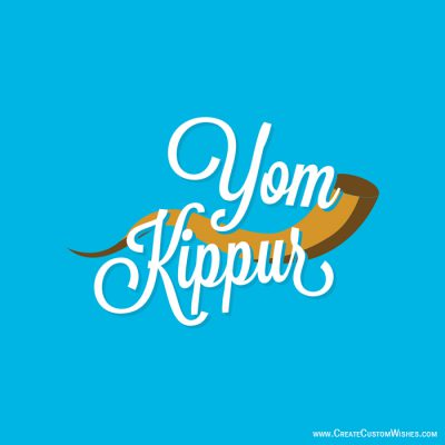 Personalized Yom Kippur Greetings Cards