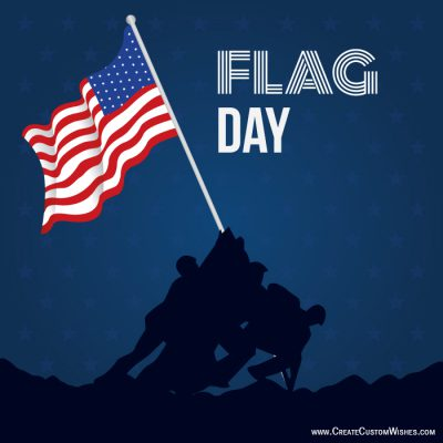 Create 14 June Flag Day Greeting Cards