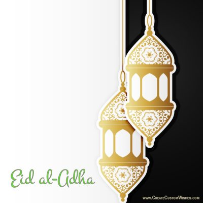 Create Eid-al-Adha Cards with My Name