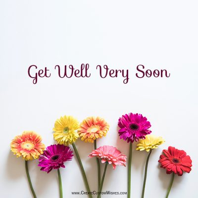 Create Custom Get Well Soon Card With Name
