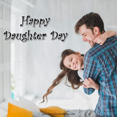 Make Custom Daughter Day eCard with Name
