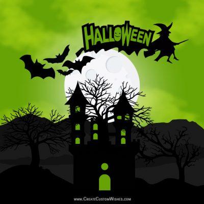 Create Customize Halloween Wishes eCard