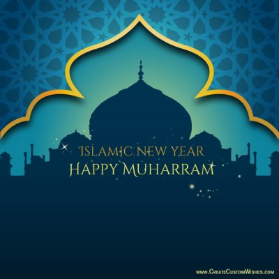 Create Custom Muharram Card with Name