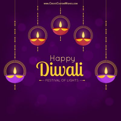 Online Diwali Greetings Cards Maker Free