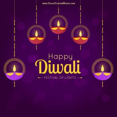 Online Diwali Greetings Cards Maker Free