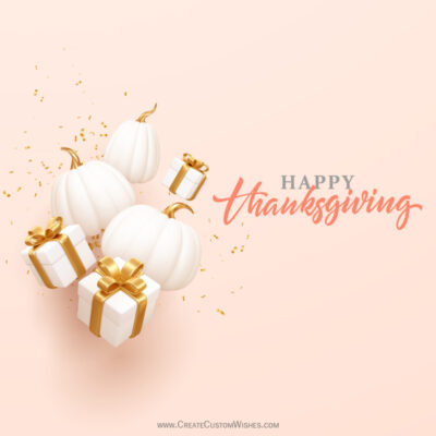 Free Happy Thanksgiving Day Wishes eCards