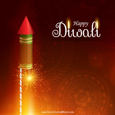 DIY - Make Your Own Diwali Wishes Card