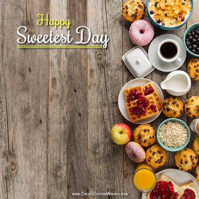 Make Sweetest Day Wishes eCard Online