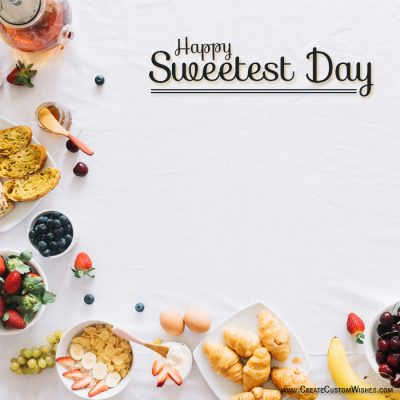 Sweetest Day Greetings Card Maker Free