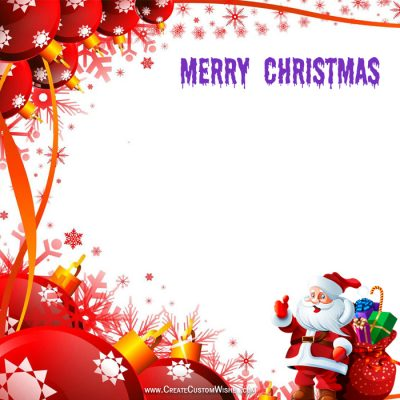 Make Merry Christmas Images Online