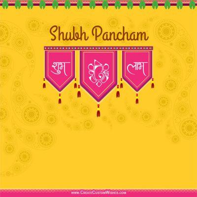 Free Making Labh Pancham Greetings Card