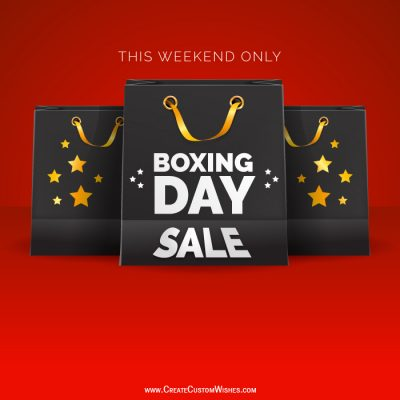 Make Boxing Day Sale Photos