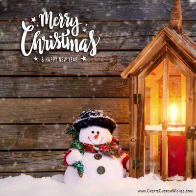 Free Christmas Greetings Card Making