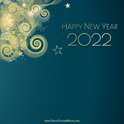 Create Happy New Year Wishes for Love
