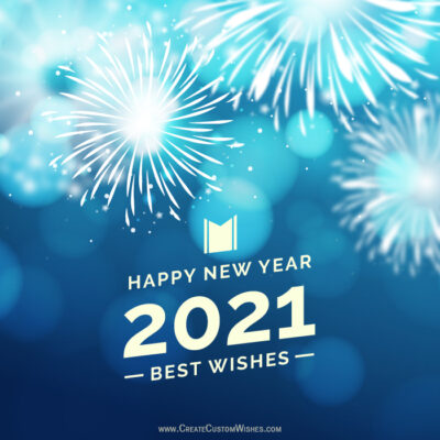 Free 2021 Happy New Year Wishes Cards