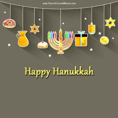 Free Hanukkah Greetings Cards Maker