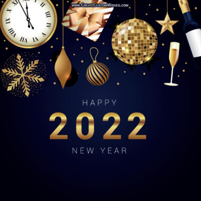 Happy New Year Cards Maker Online Application