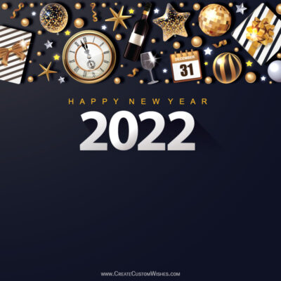 Happy New Year Eve 31 - Dec Night Wishes Image