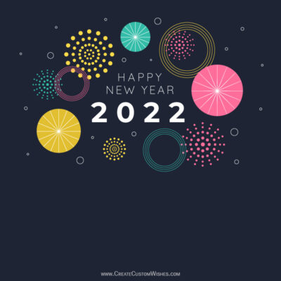 Happy New Years Eve Wishes Image with Name