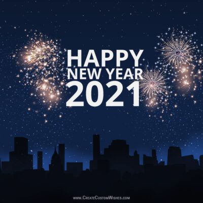 Happy New Year Eve Image with Name