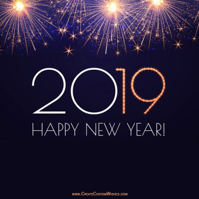 free 2019 happy new year wishes cards