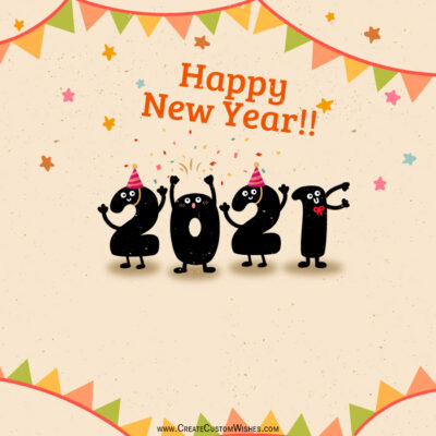 Happy New Year 2021 Wishes Images for Whats App