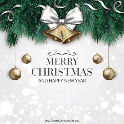DIY Create Merry Christmas Wishes Cards