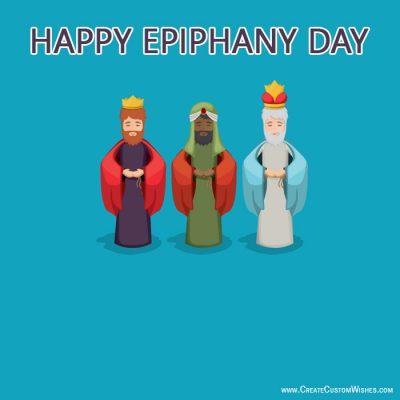 Write Text on Epiphany Pics Online Free