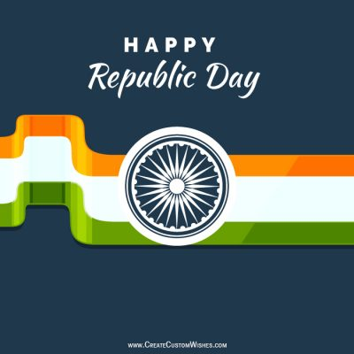 DIY - Happy Republic Day Card Maker