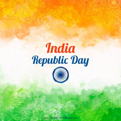 Online Republic Day Wishes Card Maker