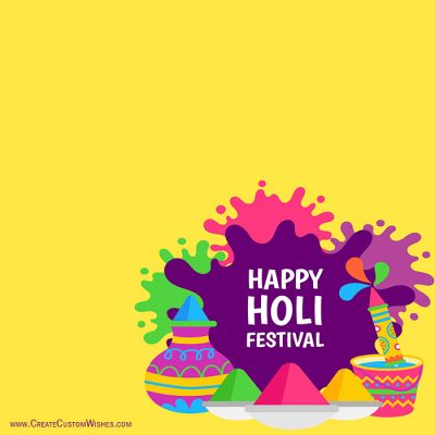 Free Make Holi Whatsapp Images