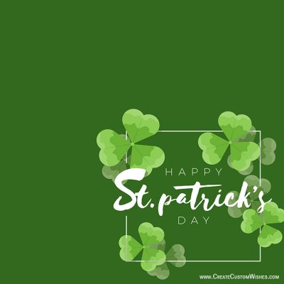 Online St. Patrick's Day Greetings Cards