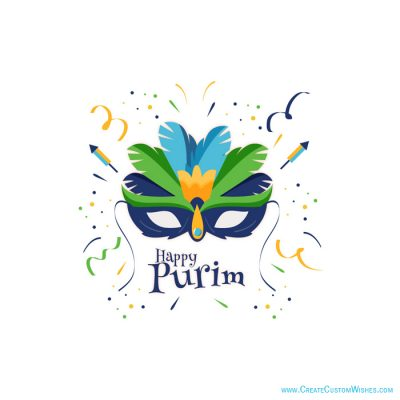 Create Custom Purim Wishes Cards