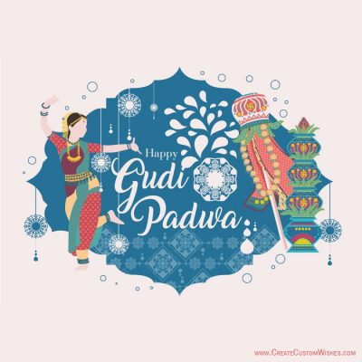 Gudi Padwa Wishes Cards Online Free