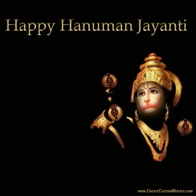 Free Make Hanuman Jayanti Whatsapp Images