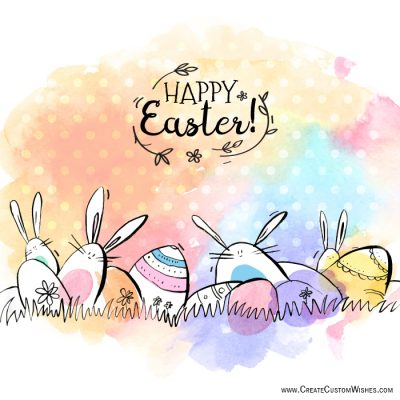 Quickly Create Your Own Easter Day Cards