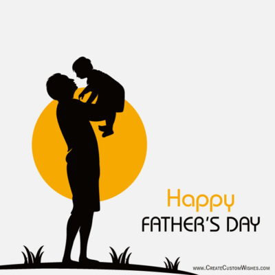Create Custom Father's Day Wishes Cards