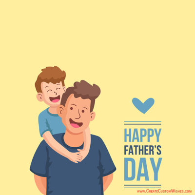 Online Father's Day Greetings Cards Editor Free